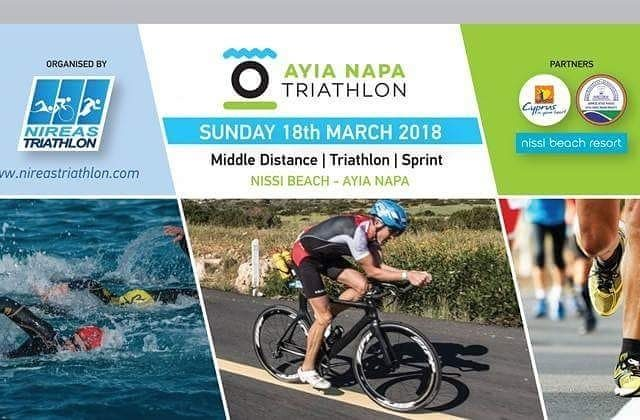 Join the biggest triathlon event on the island Ayia Napahellip