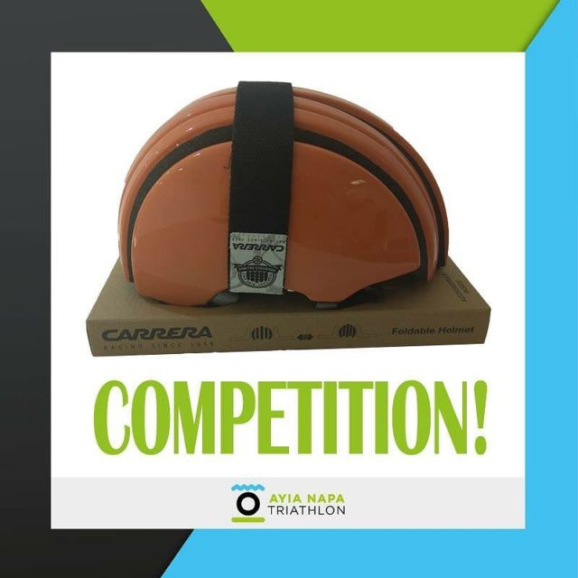 COMPETITION! Win this Carrera helmet! Register for AyiaNapaTriathlon from thehellip