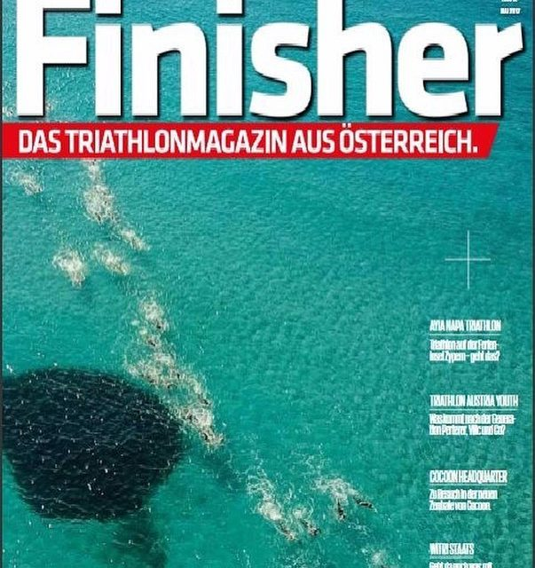 AyiaNapaTriathlon on the cover of finishermagazin We are so excited!!hellip