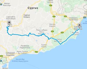 2019 Cyprus On Pedals – Nireas Triathlon